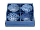 Rijstkommen set 300ml Nippon Blue | Sushitotaal.nl | De Sushi webshop