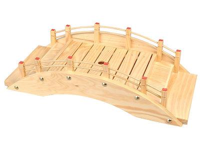 Sushi brug hout 46x22x13