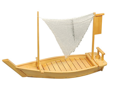 Sushiboot hout 90x30