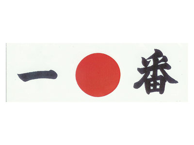 Hoofdband wit Ichiban