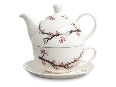 Japans theeservies Tea for One - Kraanvogel