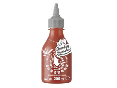 Srirachasaus rooksmaak Flying Goose - 200ML