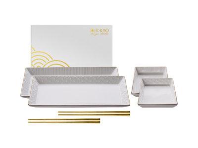 Sushiset Nippon White Gold