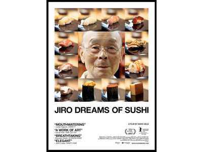 DVD Jiro dreams of sushi