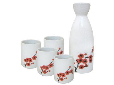 Sake set - 5-delig - Saki