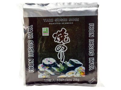 Nori - geroosterde zeewiervellen (10)