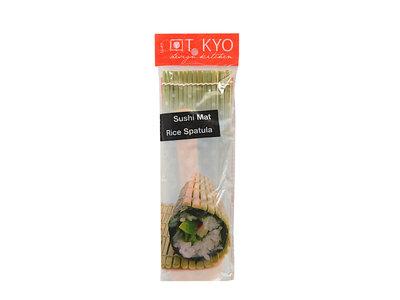 Sushi rolmatje met spatel