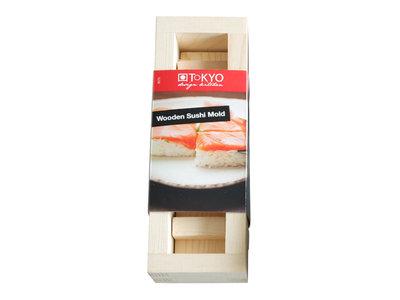 Oshi sushi maker hout 21x7x6