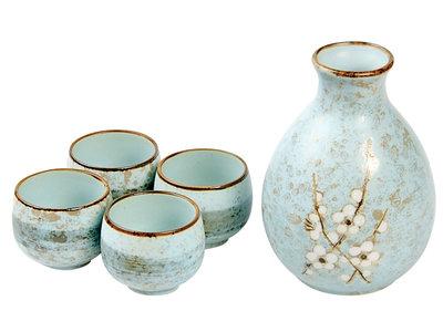 Sake set - 5-delig Soshun