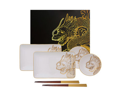 Sushiset - Limited Edition Dragon Gold