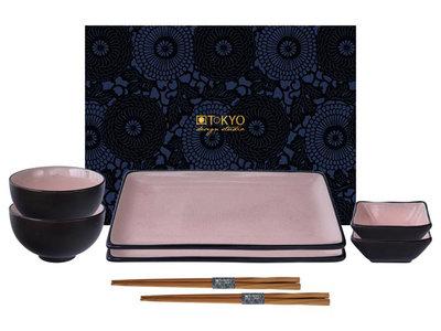 Sushiset - Glassy Pink 8 delig