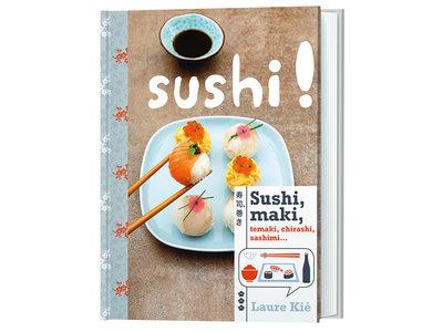 Boek Sushi! | Sushitotaal.nl | De Sushi webshop