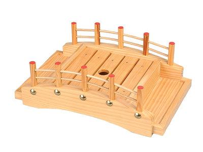 Sushi brug hout 30.5x16.5x10 | Sushitotaal.nl | De Sushi webshop