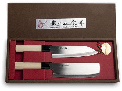 Messenset Santoku Nakiri   Sushitotaal.nl   De Sushi webshop