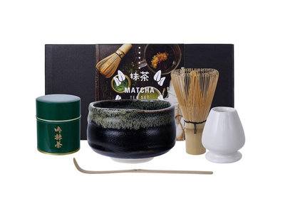 Matcha Starter Giftset Yuzu Black | Sushitotaal.nl | De Sushi webshop