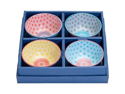 Rijstkommen set 300ml Star Wave   Sushitotaal.nl   De Sushi webshop