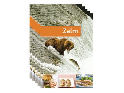 Boek Culinair Genieten Zalm - set van 5 stuks - Sushitotaal.nl