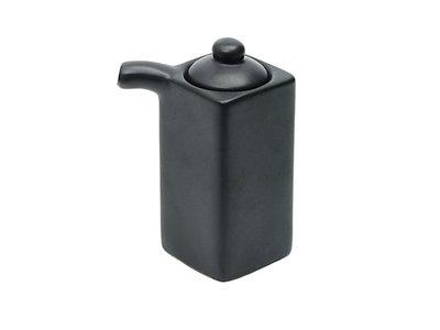 Soja saus dispenser 85ML black matte - Sushitotaal.nl